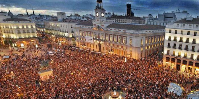 La Puerta del Sol Nochevieja Madrid