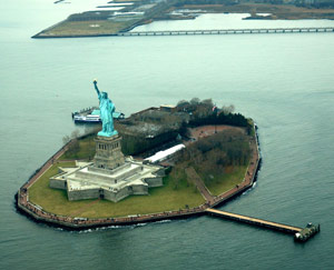Isla Libertad Nueva York